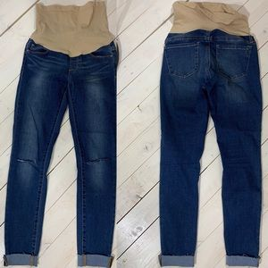 Articles of Society Dark Wash Maternity Jeans 25